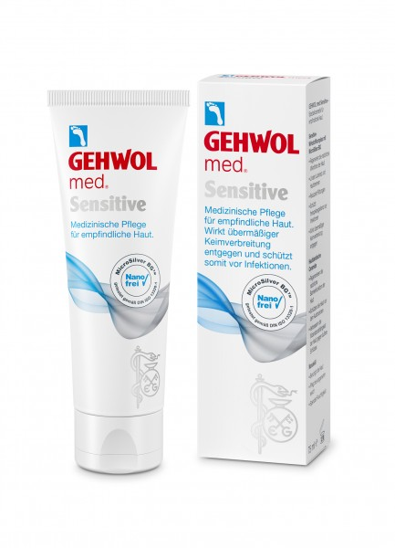 Gehwol mad. Sensitive Fußpflege, 125 ml