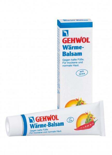 Gehwol Wärme-Balsam Feuchtigkeitsspendende Fußpflege, 75 ml