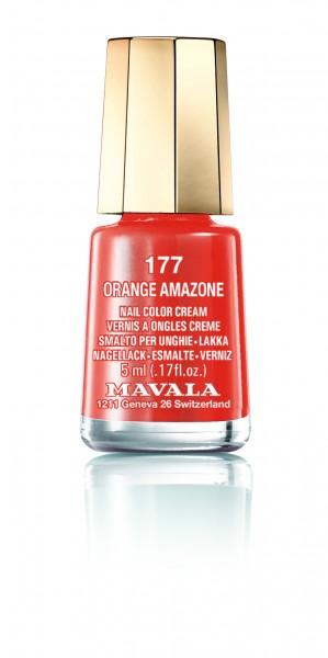 Mavala Mini Color Orange Amazone 177 Nagellack