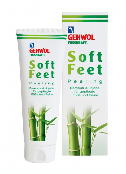 Gehwol Fusskraft Soft Feet Peeling, 125 ml