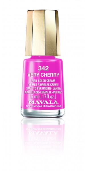 Nagellack Mavala Mini Color Very Cherry 342