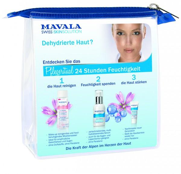 "Mavala Aqua Plus Multi-Hydratisierendes Intensivserum Aktion ""Pflegeritual 24 Stunden Feuchtigkeit"""