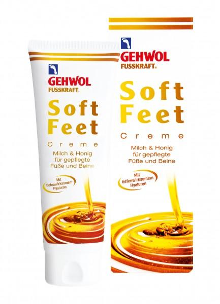 Gehwol Fusskraft Soft Feet Creme, 125 ml