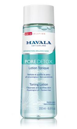 Mavala Pore Detox Klärende Gesichtslotion Perfektion, 200 ml
