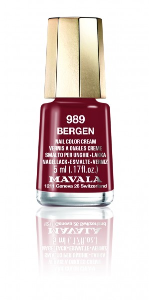 Mavala MINI COLOR Bergen 989 Nagellack