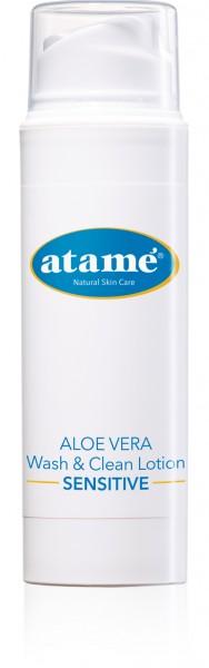 atamé Aloe-Vera Wash & Clean Lotion Sensitive