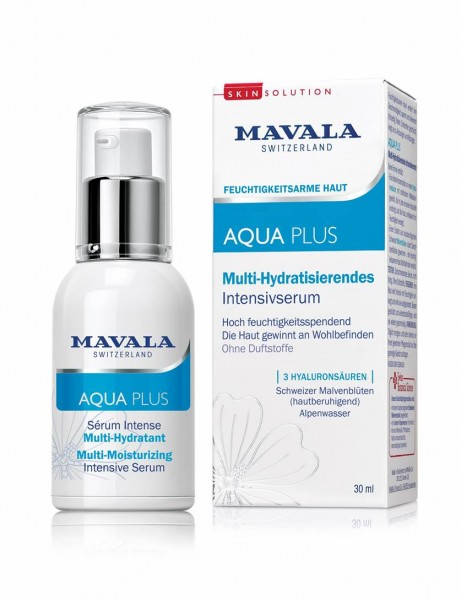 Mavala Aqua Plus Intensivserum Multi-Hydratisierendes Vegen