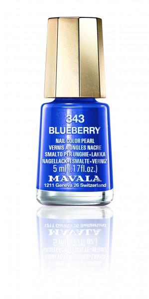 Mavala Mini Color Blueberry 343 Nagellack
