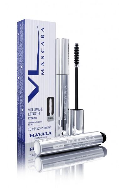 VL MASCARA (CREAMY) BRUN, VOLUMEN und LÄNGE Pflege und Schönheit der Wimpern Mavala