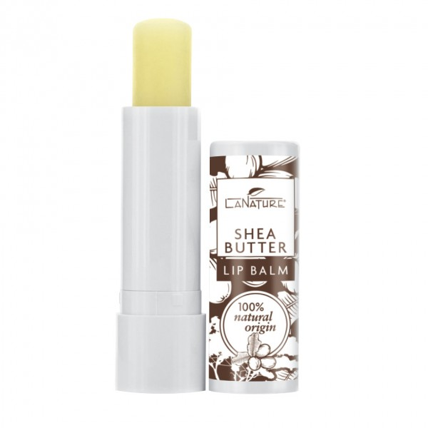 LaNature Lip Balm Ultra Rich Shea Butter, 4,8g
