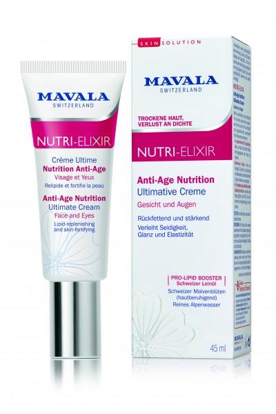 Mavala NUTRI-ELIXIR Ultimative Creme, 45 ml