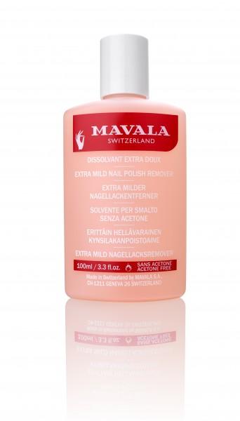 Mavala Lackentferner rosa, Extra-Milder 100 ml