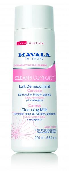 Mavala Clean & Comfort Sanfte Reinigungsmilch, 200 ml