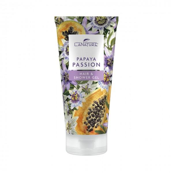 "LaNature Hair & Shower Gel ""Papaya Passion"" , 200ml"
