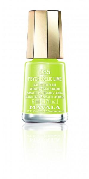 Mavala Mini Color Psychedelic Lime 985 Nagellack