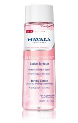 Mavala Clean & Comfort Sanfte Gesichtslotion, 200 ml