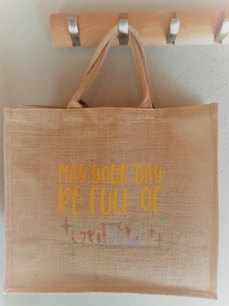Jute Shopper - Einkaufs Tasche