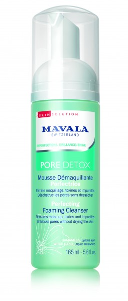 Mavala Pore Detox Reinigungsschaum Perfektion Vegan, 165 ml
